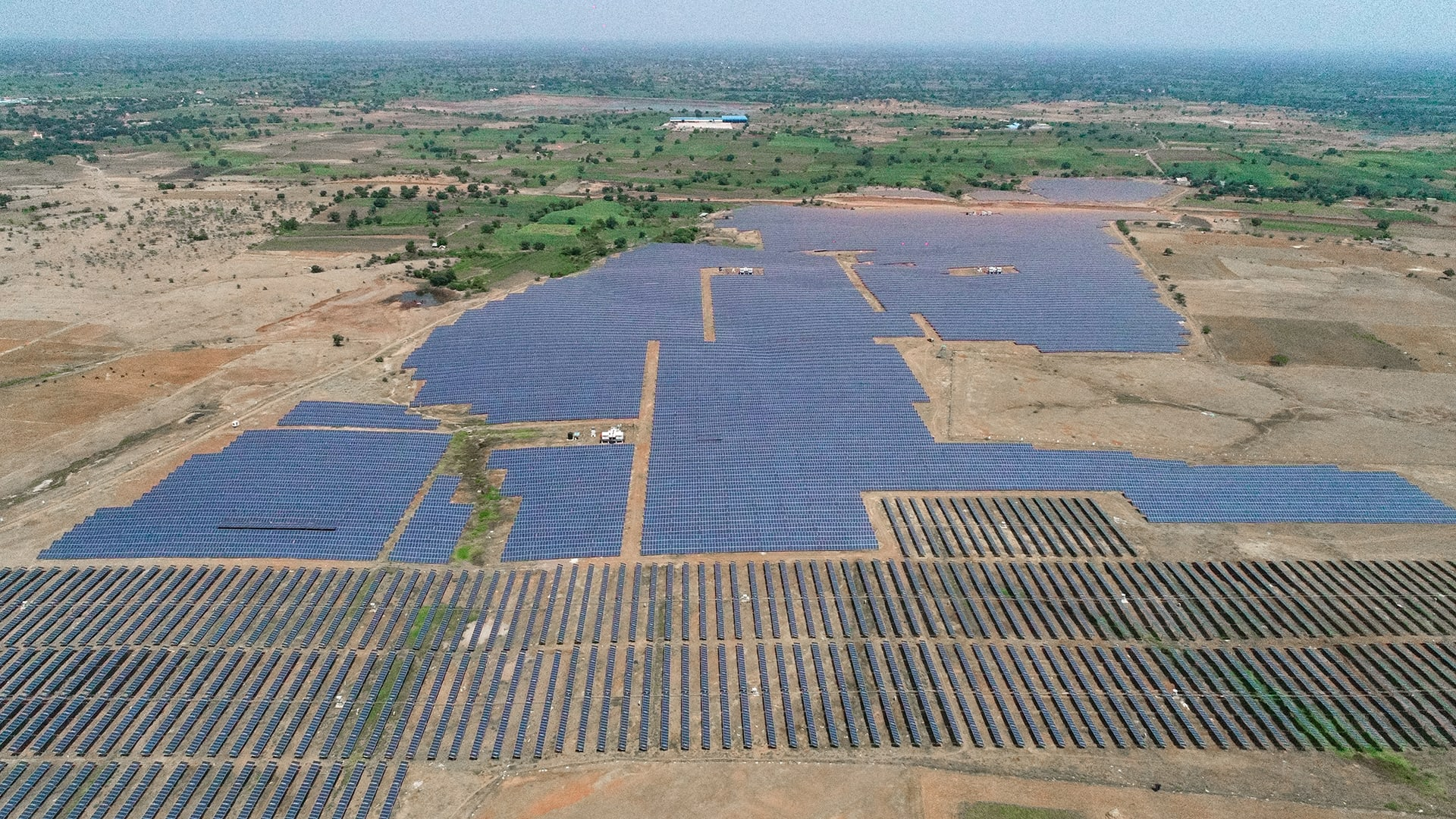 """In some areas of Maharashtra, solar power plants have been set up on grasslands often considered """"wasteland'"""