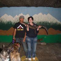 dog walker Rebecca & Jz
