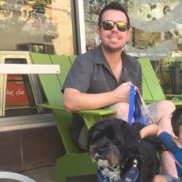 Andrew's dog boarding