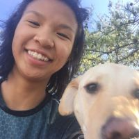 dog walker Gabrielle
