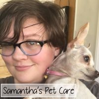 pet sitter Samantha