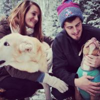 dog walker Karissa & David
