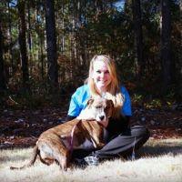 dog walker Becky