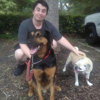 dog walker Seth