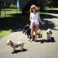 dog walker Denise