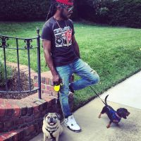 dog walker Dwayne