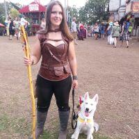 dog walker Jamie