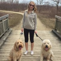 dog walker Kaitlyn