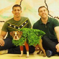 dog walker Randy & Onesio
