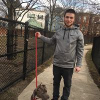 dog walker Andrew