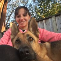 Kateryna's dog boarding