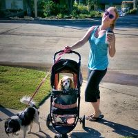 dog walker Jaci