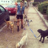 dog walker Adriana