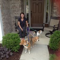 dog walker Sheri
