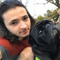 dog walker Leo
