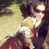 dog walker Chaya