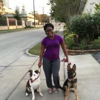 dog walker Roshaunnon