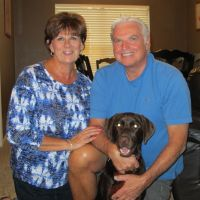 pet sitter Karen & Fred