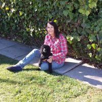 dog walker Cher