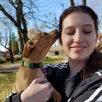 dog walker Leah