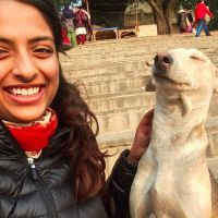 dog walker Anjali