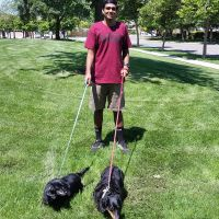 dog walker Ishan
