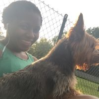 dog walker Adrienne