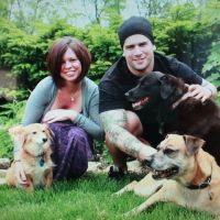 dog walker Sean & Hayley
