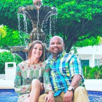 pet sitter Kasie and Antwan
