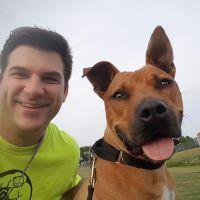 dog walker Geoff