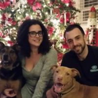 pet sitter Bradley and Stephanie