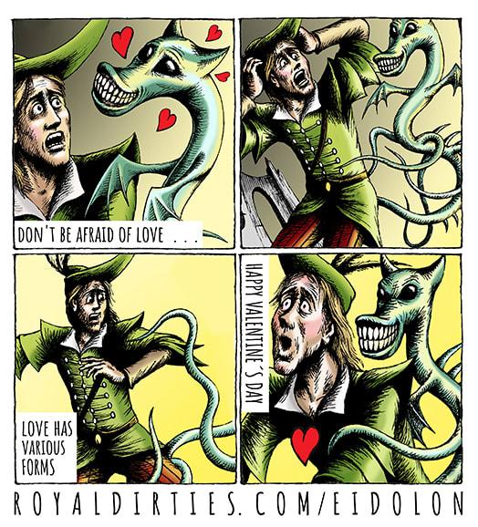 Eidolon strip: Valentine's day