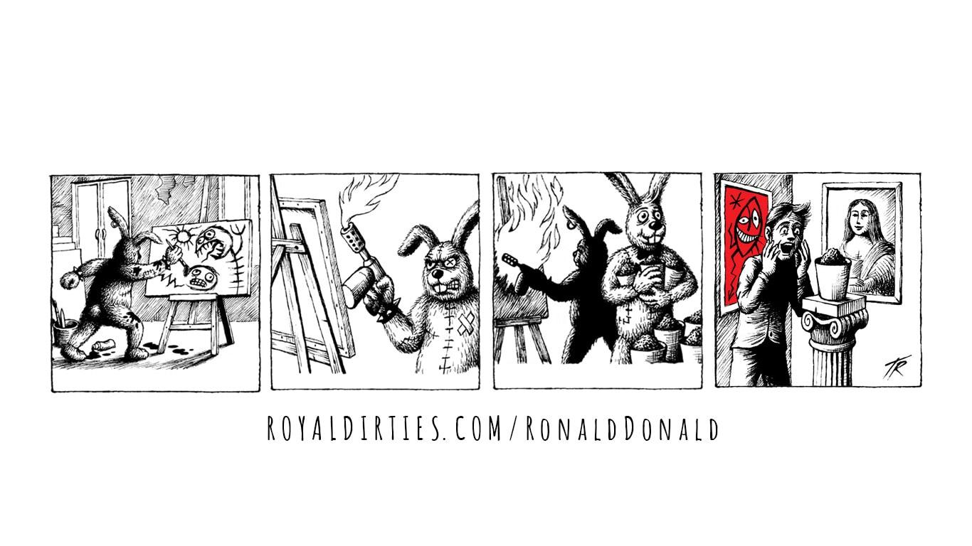 Ronald & Donald: Work of Art