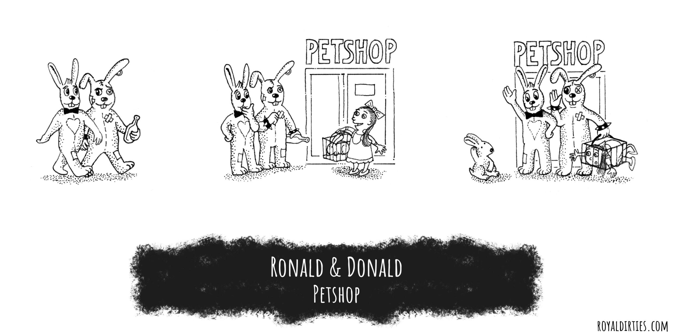 Ronald & Donald protecting Pets