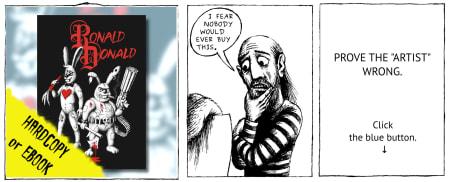 RonaldDonald: Prove the artist wrong