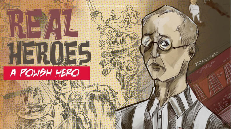 Maximilian Kolbe, Real Heroes Comics