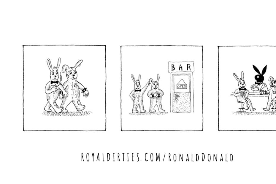 Ronald and Donald Playboys
