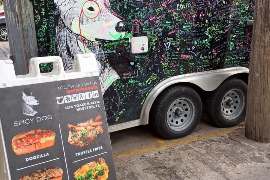 Fetch Hot Dog Food Truck Menu