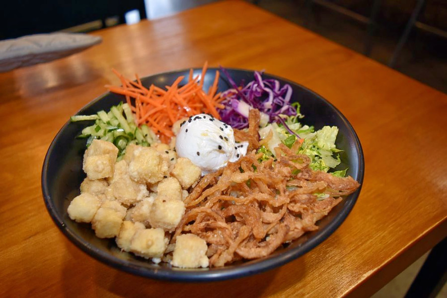 Bowl Of Food From Urban Seoul