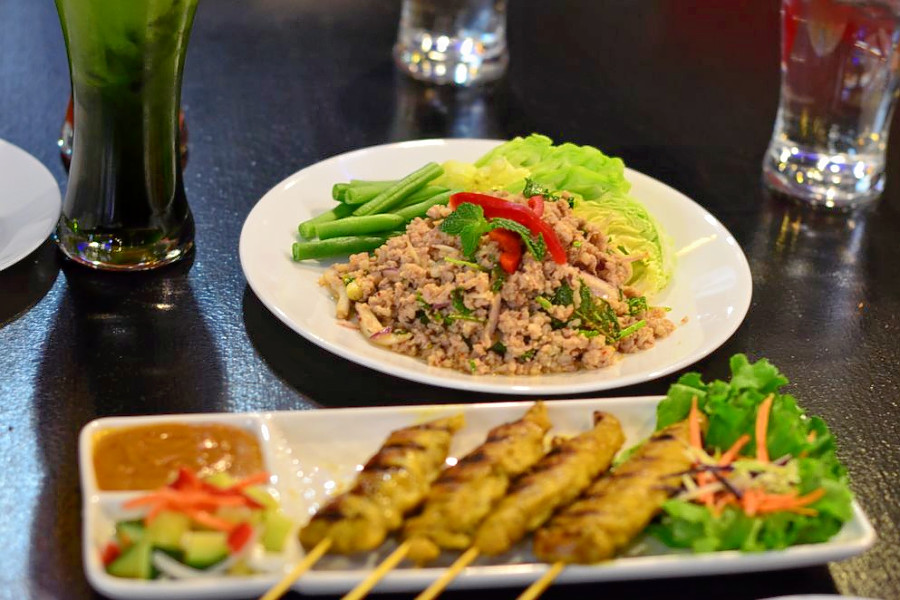 High Res Pan Asian Food