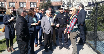 Mayor Ed Lee, Fix-It Team Walk Through Central SoMa's Quality Of Life Concerns