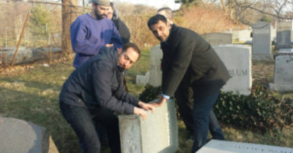Muslim-led fundraising for Jewish cemetery started in Philly. Now it will help here.