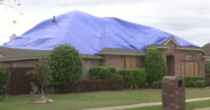 Repairs Continue One Year After Collin County Hailstorms