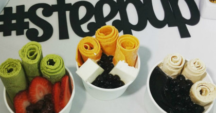 Trendy Rolled Ice Cream, Boba Drinks Await At SoMa's New 'Steep Creamery' [Video]