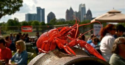 Atlanta's largest crawfish festival brings Mardi Gras style to food and music