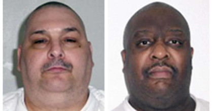 Arkansas is hours away from 2 more executions in its capital punishment spree