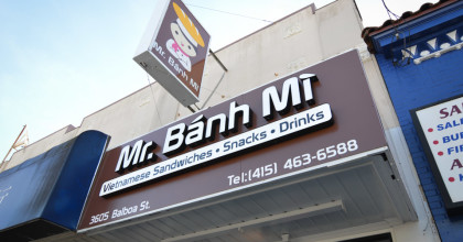 'Mr. Banh Mi' Celebrates Grand Opening In Outer Richmond