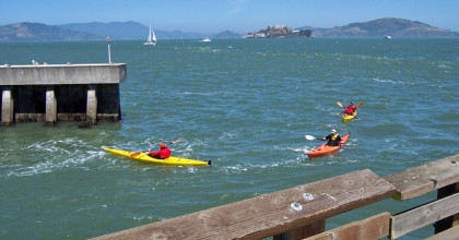 Four Kayakers Rescued From Waters Near Pier 54