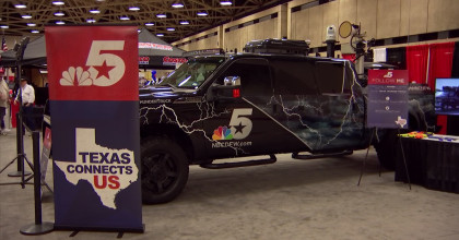 Texas Thunder Truck at the DFW Auto Show
