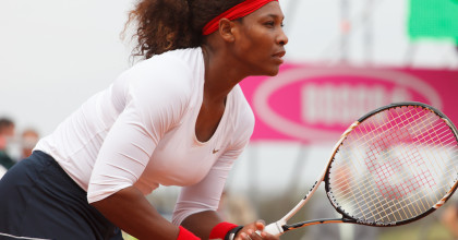 Spotted: Serena Williams Challenges  Dolores Park Tennis Players To Late-Night Match